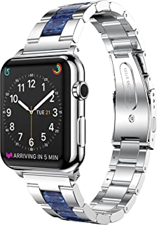 Adjustable Designer Bracelet for Apple Watch 1/2/3/4, iWatch Band Replacement for Adult
