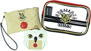 Harry Potter Hogwarts Alumni Jrs. Gift Set Makeup Case Zip Wallet & Coin Purse