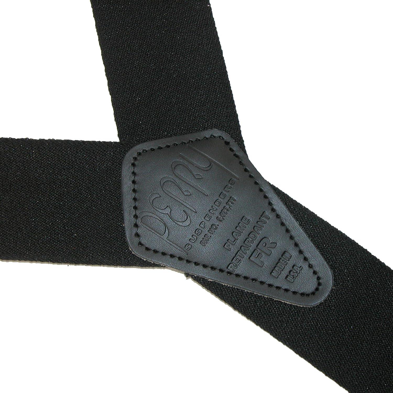 Perry Suspenders Men's Elastic Flame Retardant Hook End Work Suspenders