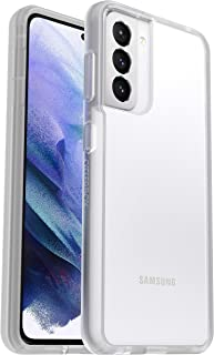 OtterBox Sleek Case, Streamlined Protection for Samsung Galaxy S21 5G - Clear - Non-Retail Packaging