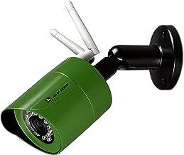 John Deere Wireless Outdoor HD Security Camera   Weatherproof Bullet Surveillance Camera w/ Wifi, Smart Motion Detection, & Night Vision