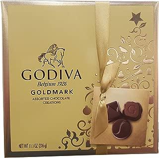 Godiva 27Piece Belgium Boxed Assorted Chocolates, 11.1 Oz