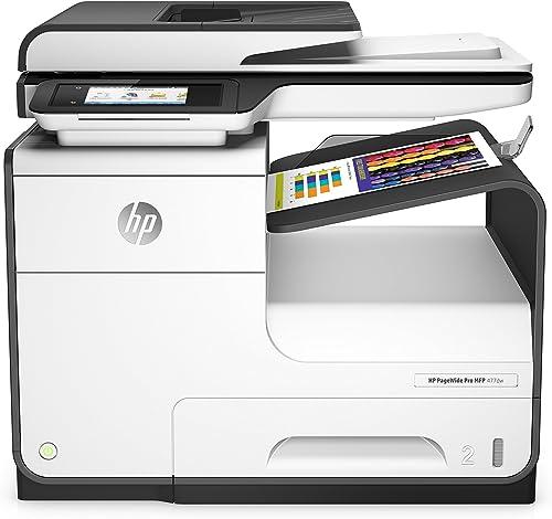 HP PageWide Pro 477dw MFP (D3Q20B) - imprimante multifonction couleur : impression, A4, scan, copie, fax (couleur ; r...