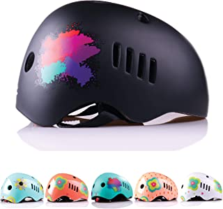 Naranja Minimalista Bike Helmet Kids for Ages 5-14 from Lightweight and Impact Resistant PC Outer Shell Material and CPSC Safety Certified - Ideal for Boys and Girls