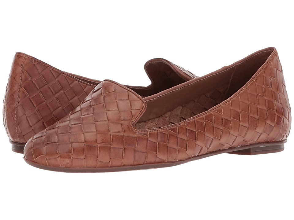 French Sole Admire (Cognac Woven Leather) Women