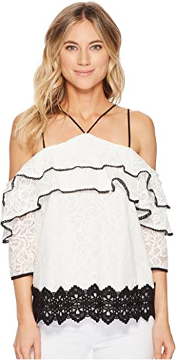 Adelyn Rae - Hilda Cold Shoulder Blouse