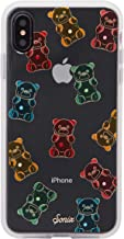 Sonix Gummy Bear Case for iPhone Xs Max [Military Drop Test Certified] Protective Multi-Color Rhinestone Embellished Clear Series for iPhone Xs Max