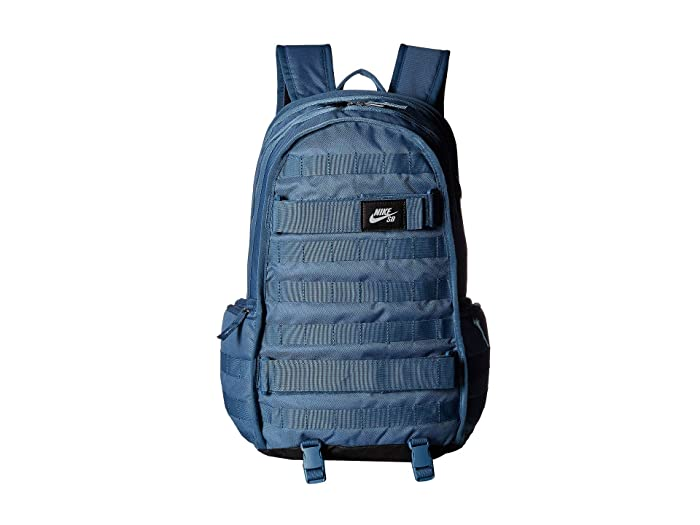 Nike SB RPM Backpack (Thunderstorm/Thunderstorm/Black) Backpack Bags