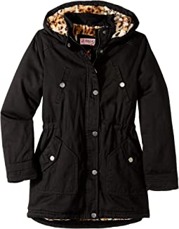 Natasha Cotton Twill Anorak Jacket (Little Kids/Big Kids)