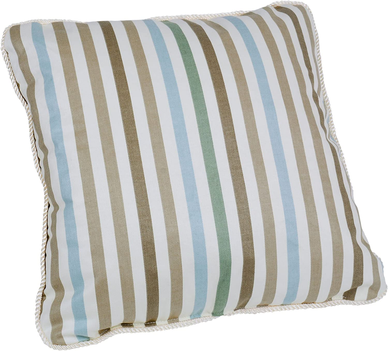 Ellis shipfree Curtain Line-Up Stripe Print Toss L Pillow 17 Colorado Springs Mall 17-Inch by