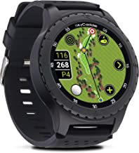 SkyCaddie LX5 ، ساعت مچی گلف GPS با صفحه نمایش لمسی و کورس رنگی HD مشاهده نقشه ها ، سیاه ، کوچک