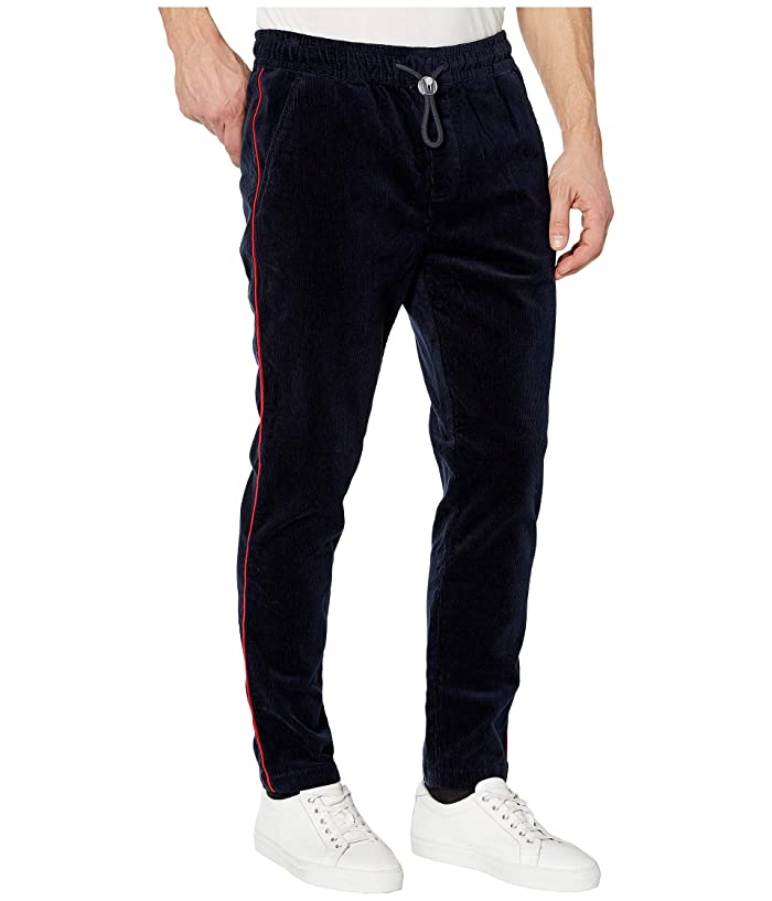 Tommy Hilfiger Adaptive  Cord Jogger Pant (Sky Captain/Multi) Mens Casual Pants