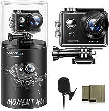 VanTop Moment 4U 4K Action Camera 20MP Underwater...