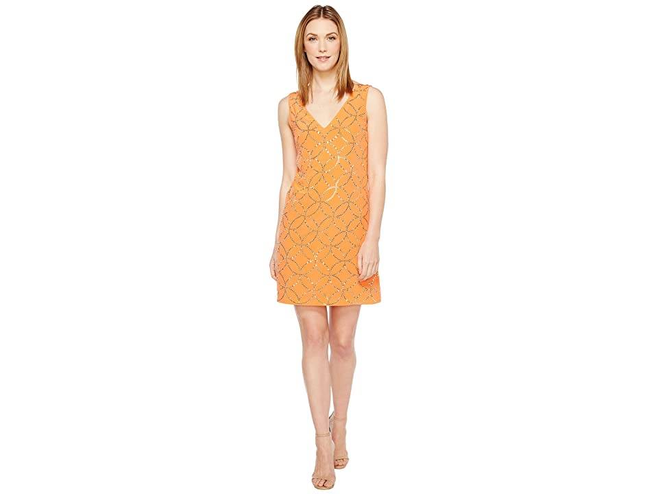 Trina Turk Sally Dress (Orange Spritzer) Women