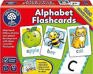 Orchard Toys Alphabet Flashcards Board Games, Multicolour