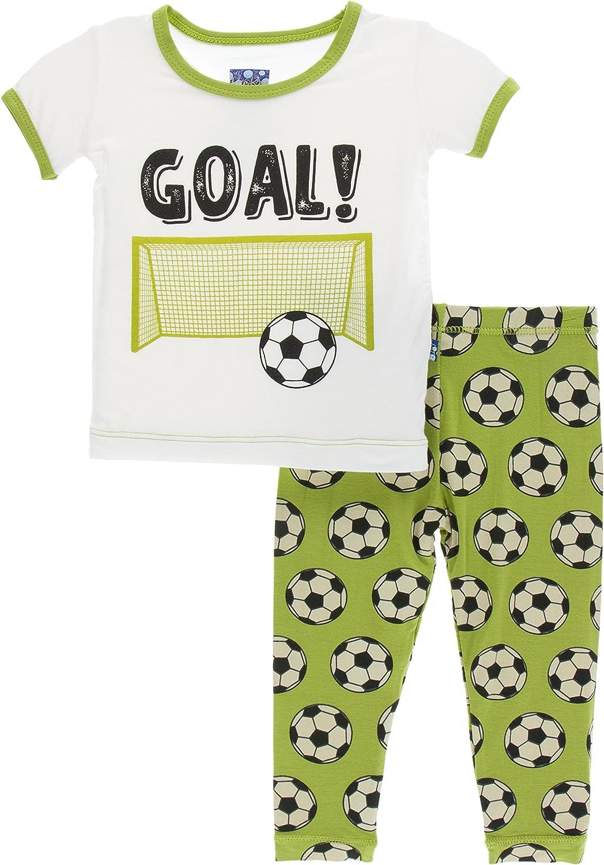 KicKee Tucson Mall Pants Don't miss the campaign Print Short Pajama Sleeve Set