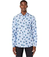 MARNI - Long Sleeve Floral Button Down