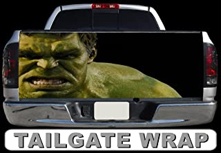Tailgate Wrap T259 Hulk Vinyl Graphic Decal Sticker F150 F250 F350 Ram Silverado Sierra Tundra Ranger Frontier Titan Tacoma 1500 2500 3500 Bed Cover
