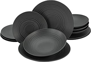 Creatable, 23205, LAVA STONE series (ELEMENTS Collection), dinner service 12 pieces
