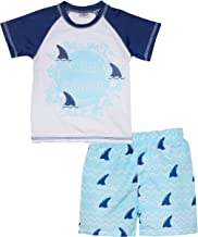 Sweet & Soft Baby Boys 2-Piece Rash Guard and Trunk Swimsuit Set (Infant/Toddler)