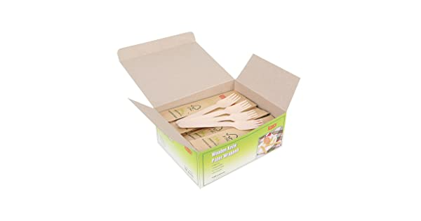 Gmark Wooden Fork Paper Wrapped 100 ct GM1026