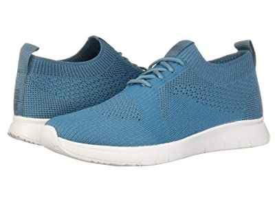 FitFlop Marble Knit Slip-On Sneaker (Teal/Turquoise) Women