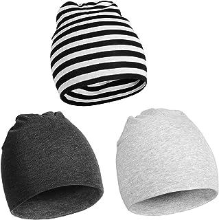 Momcozy Unisex Baby Hats Beanie, Organic Cotton Soft Caps Nursery Beanie for Baby Infant Newborn Boys Girls 0-12 Months