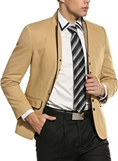 COOFANDY Men's Modern Suit Jacket Blazer One Button Tuxedo for Party,Wedding,Banquet,Prom