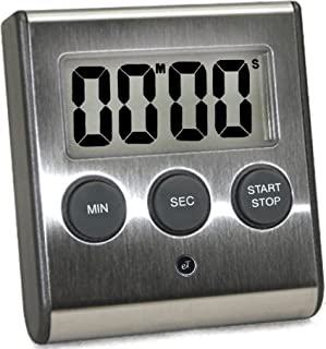 eTradewinds Elegant Digital Kitchen Timer, Stainless Steel Model eT-23, Super Strong..