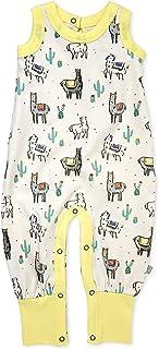 Finn + Emma Organic Cotton Jumpsuit for Baby Boy or Girl 18-24 Months Yellow U06-0105a18-24