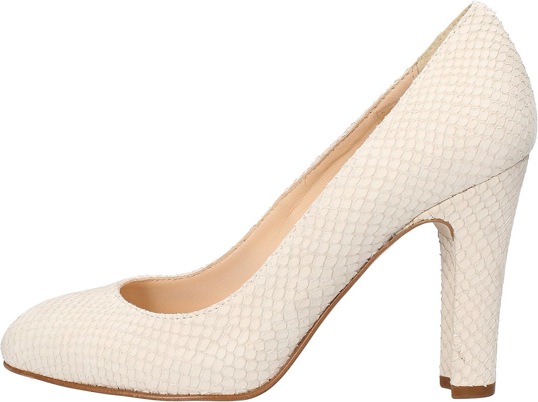 CARMENS Pumps-shoes Womens Snakeskin Beige