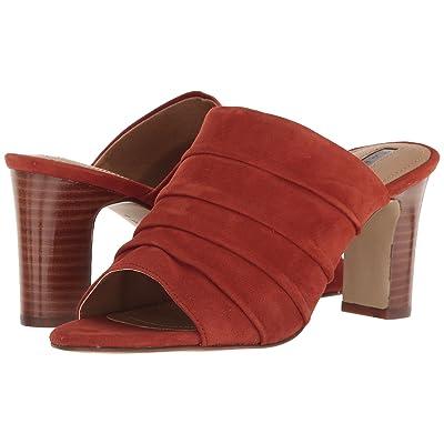 Tahari Ariana (Red Adobe Suede) High Heels