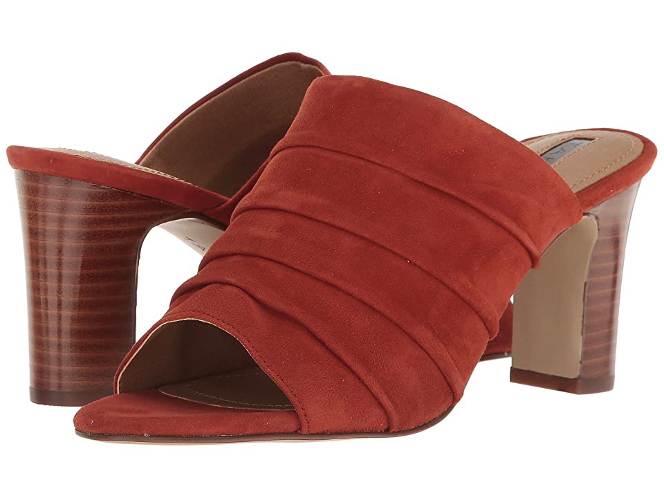 Tahari Ariana (Red Adobe Suede) High Heels