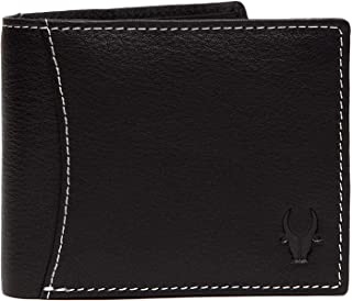 WildHorn Genuine Leather Hand-Crafted Bifold Wallet, Ultra Slim Wallet with 6 Card Slots, Coin pocket and 2 Currency Pocke...