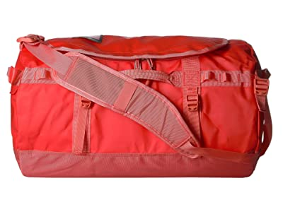 The North Face Base Camp Duffel Small (Juicy Red/Spiced Coral) Duffel Bags