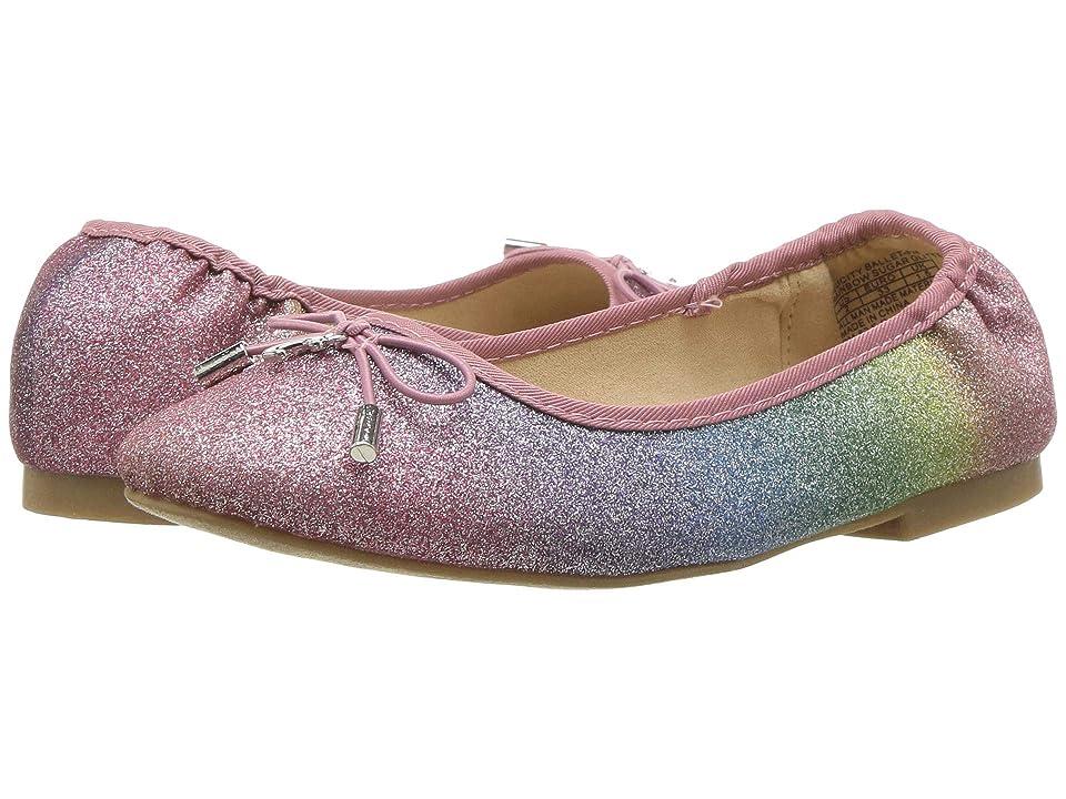 Circus by Sam Edelman Kids Felicity Ballet (Little Kid/Big Kid) (Rainbow Glitter) Girl