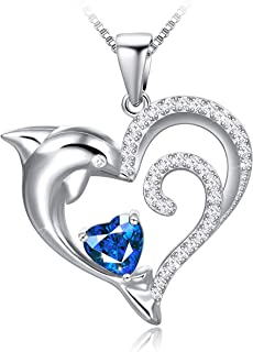 Best silver heart necklace with cubic zirconia Reviews