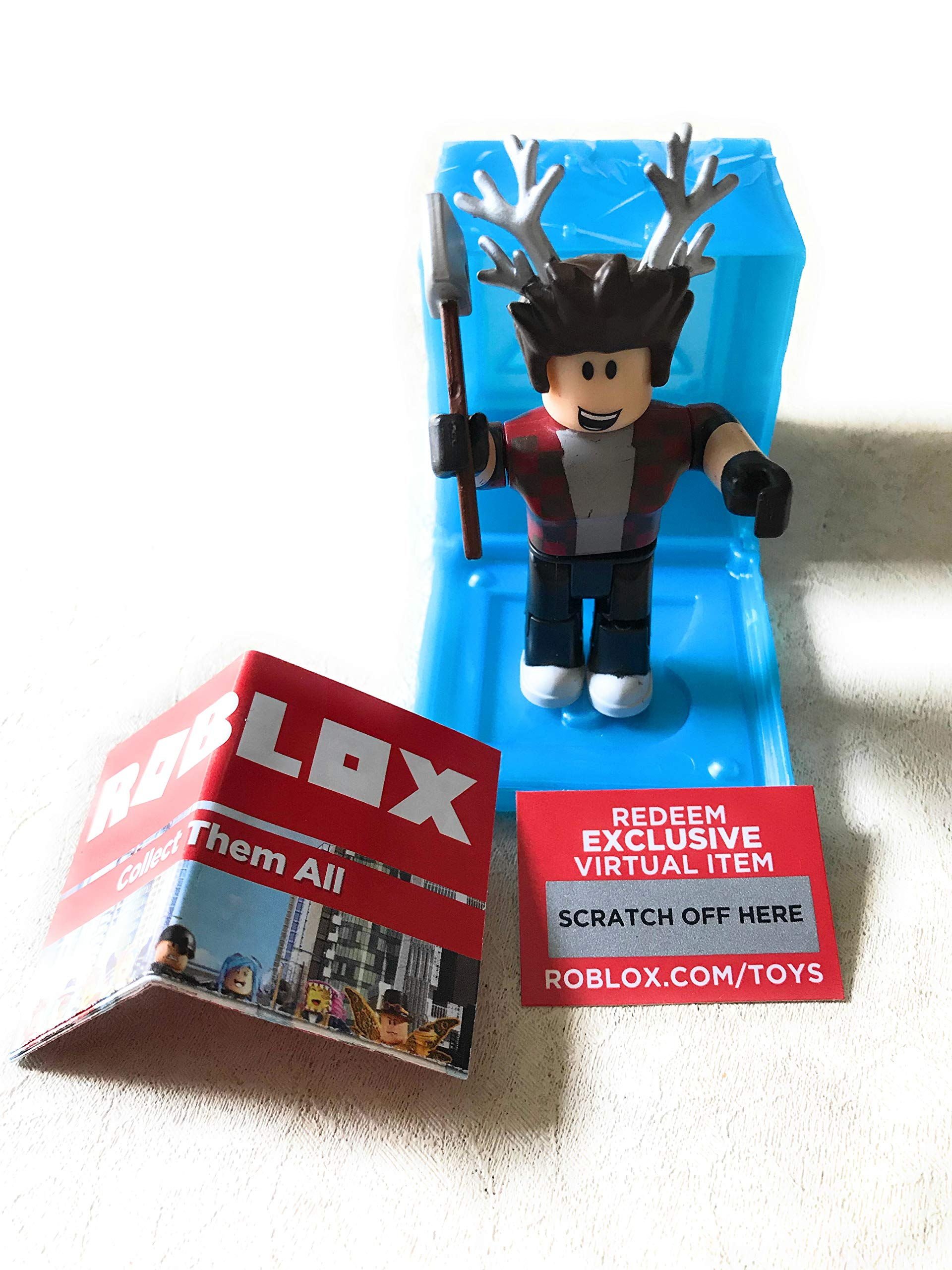Amazon Com Roblox Series 3 Lumberjack Tycoon Action Figure