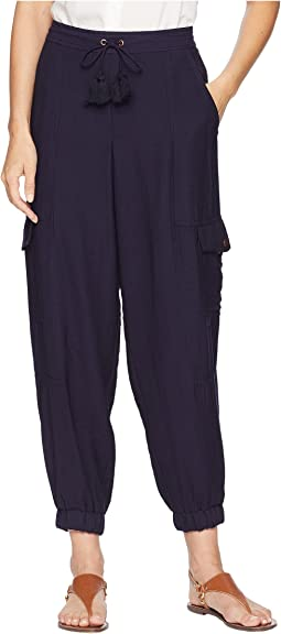 Flat Front Cargo Pants