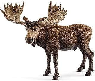 Schleich Moose Bull Figure