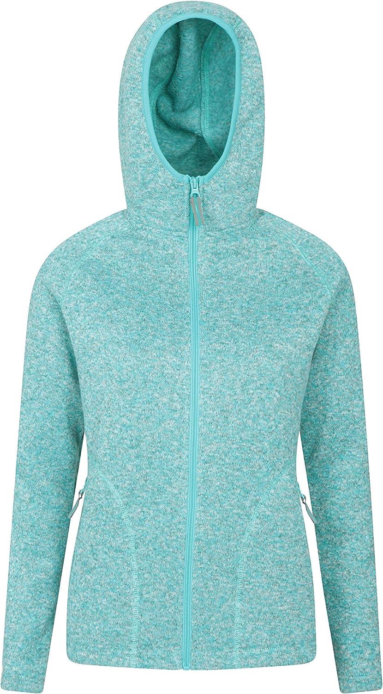 Mountain Warehouse Nevis Womens Max 60% OFF Fleece Zip Free shipping - Winter Jacket Full
