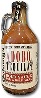 Johnny's Adobo Tequila Sauce (Mild-Medium Heat)- A Bold Sauce for Chicken, Enchiladas & Tacos