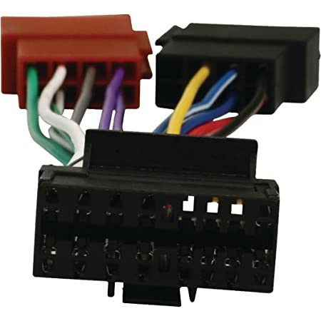 Eurosell Autoradio Iso Adapterkabel Sony 16 Pin Radios Adapter Stecker Kabel Kfz Radio Auto