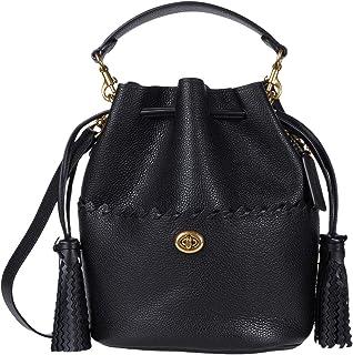 COACH Whipstitch Details Lora Bucket Bag