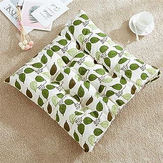 Nicole Knupfer Juego de 2 cojines cuadrados para asiento, cojines para silla de jardín, terraza, cocina (40 x 40 cm)