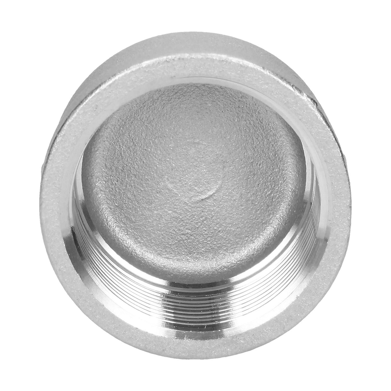 Tapa de rosca de acero inoxidable V4A de 2,5 cm