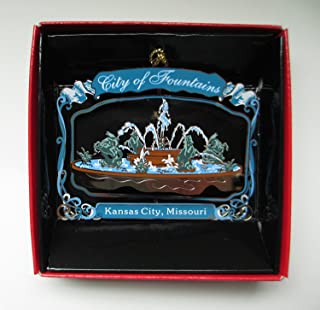 Kansas City Fountains Ornament Meyer City Sea Horse Fountain J.C. Nichols Memorial