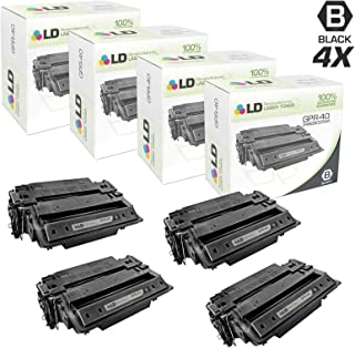LD Remanufactured Toner Cartridge Replacement for Canon GPR-40 3482B005AA (Black, 4-Pack)
