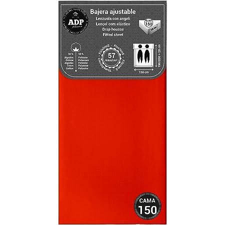 ADP Home - Bajera Ajustable (para Cama de 150 cm), Rojo