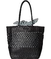 Loeffler Randall - Maya Woven Leather Shopper Tote